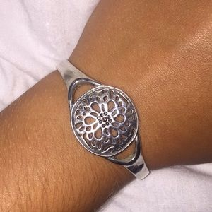 Lucky Brand Silver Cuff Bracelet